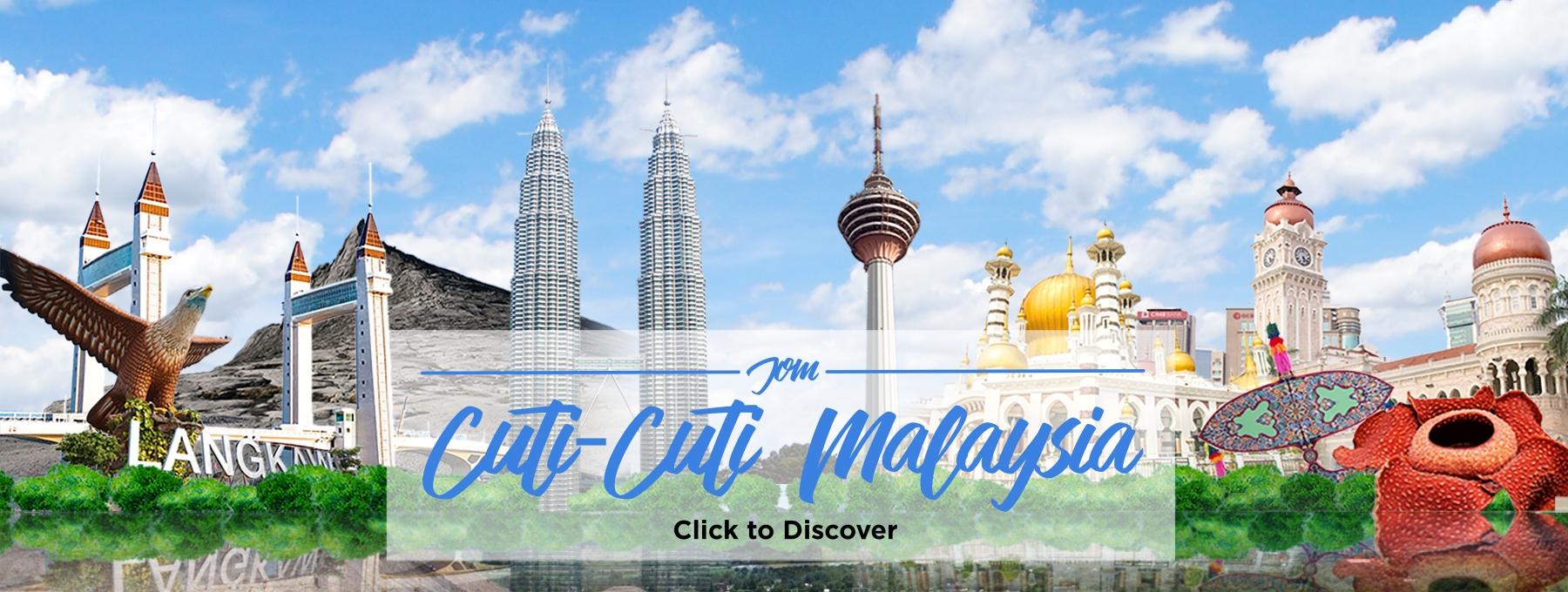 Jom Cuti-Cuti Malaysia Deals