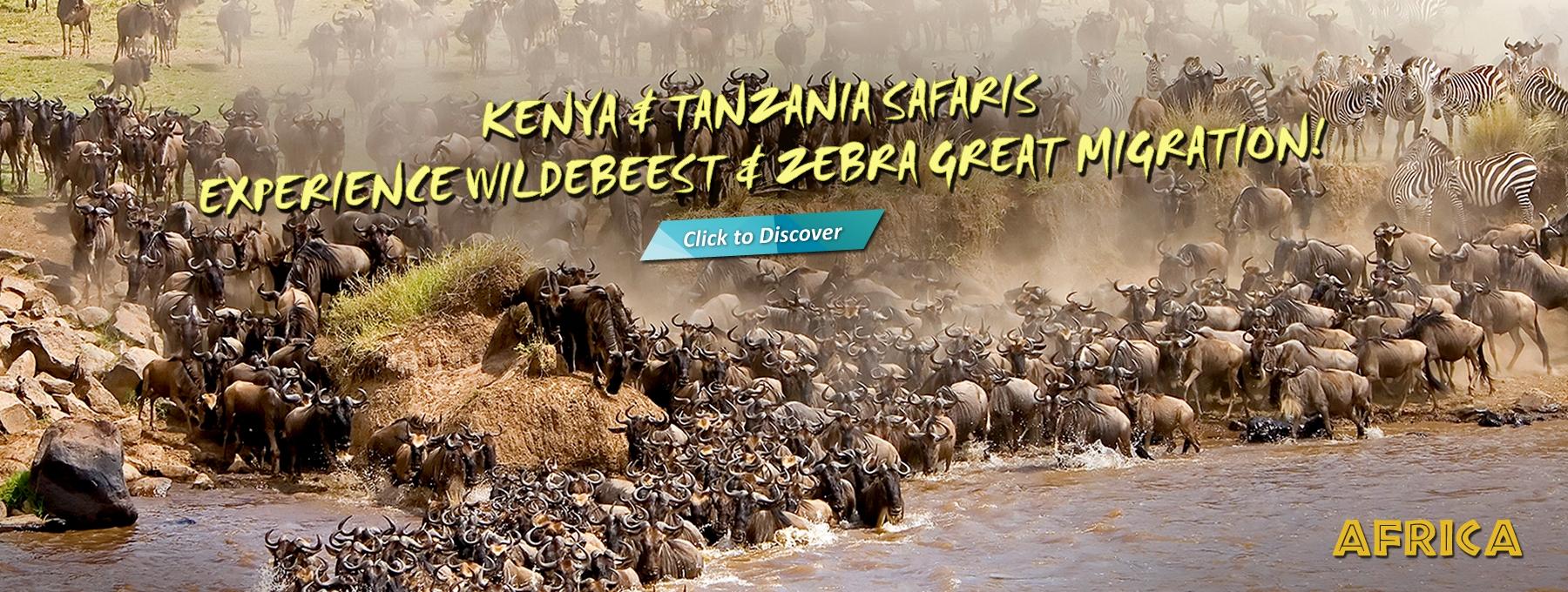 Kenya & Tanzania Safaris (East Africa)